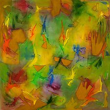 Shangri-La by Lynne Taetzsch (Acrylic Painting)