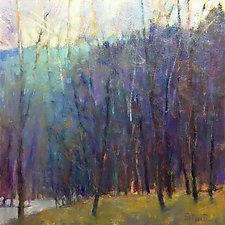 Wood at the Lake I by Ken Elliott (Giclee Print)