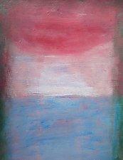 Rose Sky (The Parting Series) by Heidi Daub (Acrylic Painting)