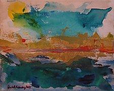 Martha's Vineyard Bluffs by Pamela Acheson Myers (Acrylic Painting)