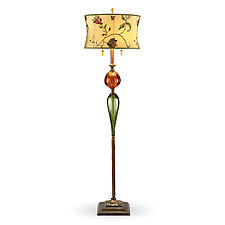 James by Susan Kinzig and Caryn Kinzig (Mixed-Media Floor Lamp)