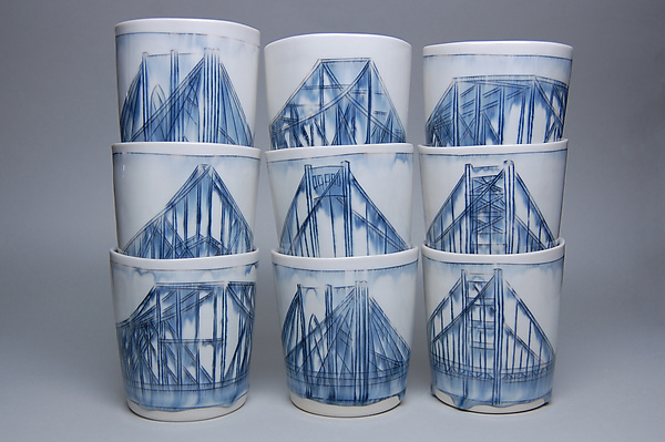 Bridge Whiskey Cups