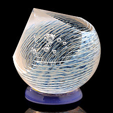 Pointing to Venus by Benjamin Silver (Art Glass Paperweight)