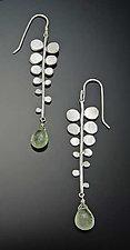 Fern Earrings by Ananda Khalsa (Silver & Stone Earrings)