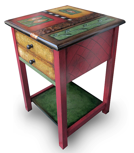 Harvest Vine End Table