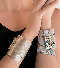 Leather Cuff by Ealish  Wilson (Leather Cuff)