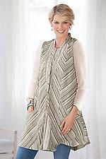 Bretta Vest by Cynthia Ashby (Linen Vest)