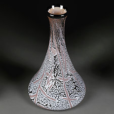 Serene Sahara by Eric Bladholm (Art Glass Vessel)