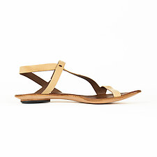 Minimalist Sandal - Size 40 by CYDWOQ  (Leather Sandal)