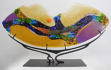 Dreamscape by Karen Ehart (Art Glass Sculpture)