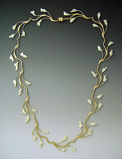 Lyrical Branch Necklace