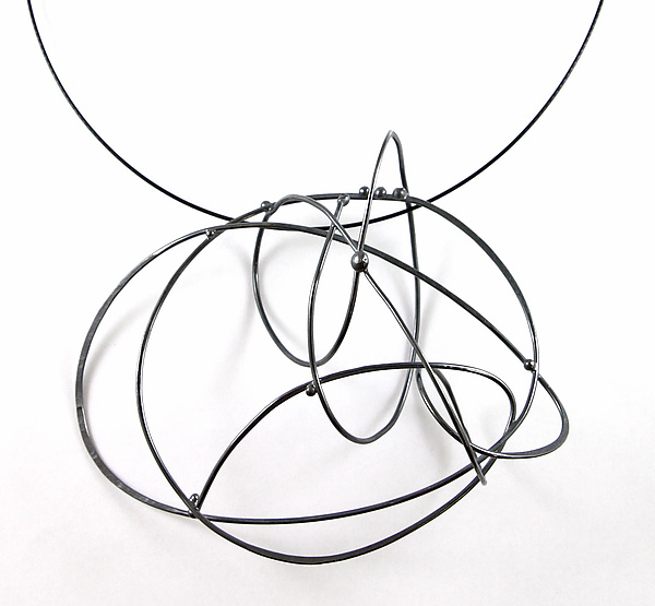 Large Scribble Necklace