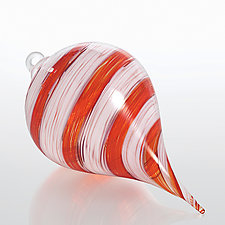 Wintermint Waltz by Jacob Pfeifer (Art Glass Ornament)