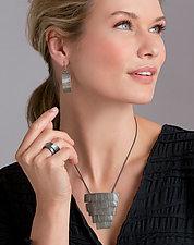 Tidal Earrings by Jane Pellicciotto (Silver Earrings)