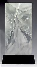 Converge by Susan Bloch (Art Glass Sculpture)
