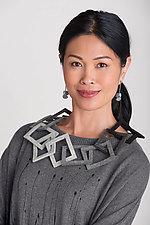 Quadra Necklace by Danielle Gori-Montanelli (Felted Necklace)