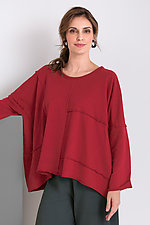 Boho Sweatshirt by Bodil Knighton  (Knit Top)