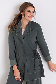 Vista Jacket by Lisa Bayne  (Knit Jacket)