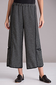 Boucle Double-Stitched Pant by Cynthia Ashby  (Woven Pant)