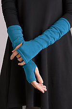 Cotton Gauntlets by Planet   (Knit Gloves)