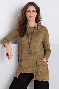 Savannah Top by Comfy USA  (Knit Top)