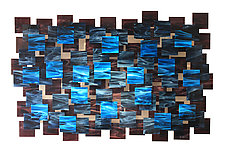 Electric by Karo Martirosyan (Art Glass Wall Sculpture)