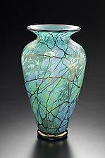 Serenity Vase by David Lindsay (Art Glass Vase)