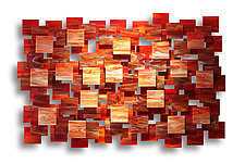 Sedona by Karo Martirosyan (Art Glass Wall Sculpture)