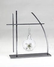 Prairie Ornament Display by Ken Girardini and Julie Girardini (Metal Ornament Stand)