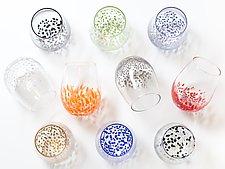 Small Star Wine Glass by Aaron Baigelman (Art Glass Drinkware)