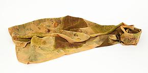 Warm Afternoon Stonewashed Silk Crepe de Chine Scarf by Ayn Hanna (Silk Scarf)
