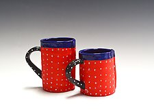 Velvet Red Mug by Vaughan Nelson (Ceramic Mug)