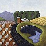 Cooper Barn by Carrie Crane (Giclée Print)