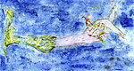 Mermaid No.4 by Roberta Ann Busard (Giclée Print)