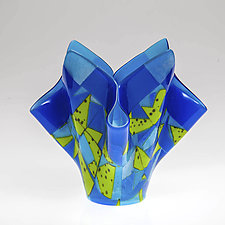 Amalfi Vessel by Varda Avnisan (Art Glass Vessel)