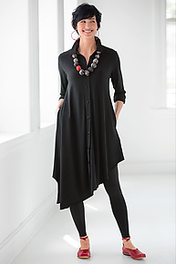 Damielle Tunic by Comfy USA  (Knit Tunic)