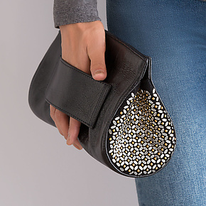 Wren Clutch by Calleen Cordero (Leather Clutch)