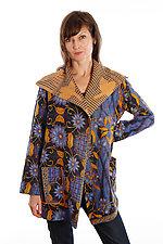 Pocket Jacket #10 by Mieko Mintz  (One Size (2-14), One of a KInd Jacket)