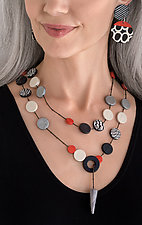 Natalie Necklace by Klara Borbas (Polymer Clay Necklace)