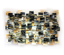 Dunes by Karo Martirosyan (Art Glass Wall Sculpture)