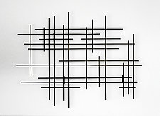 Linear by Karo Martirosyan (Metal Wall Sculpture)