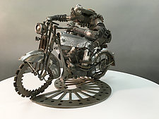 Harley Sidecar by Clint Hansen (Metal Sculpture)