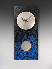 Moon at Night Pendulum Clock by Leonie  Lacouette (Wood Clock)