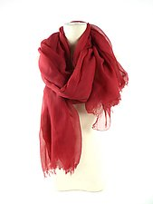 Organic Cotton Light Weight Shawl by Yuh  Okano (Cotton Scarf)