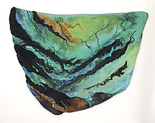 Perfect Storm by Sharron Parker (Fiber Wall Hanging)