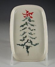Jazzy Tree Trays by Carol Barclay (Ceramic Tray)