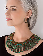 Egyptian Collar by Julie Powell (Beaded Necklace)
