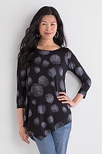Galina Dot Tunic by Comfy USA  (Knit Top)