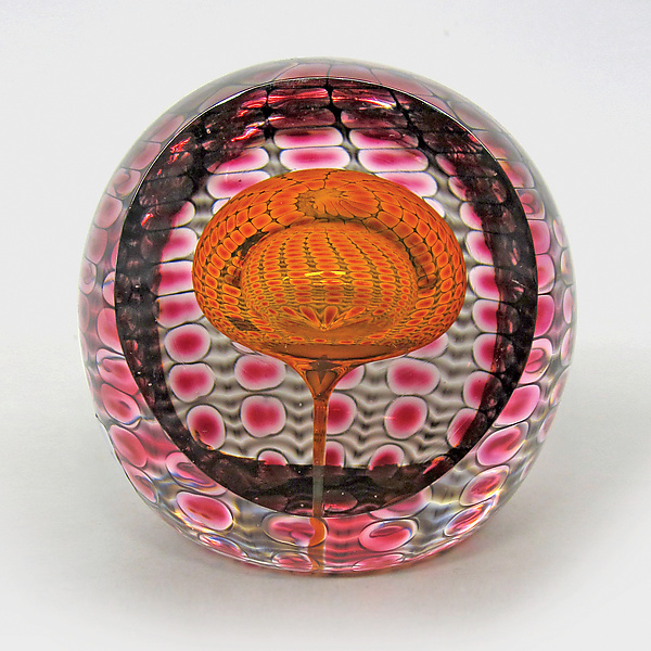 Jewel Faceted Round Paperweight