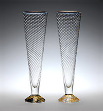Flutes by Tom Stoenner (Art Glass Drinkware)